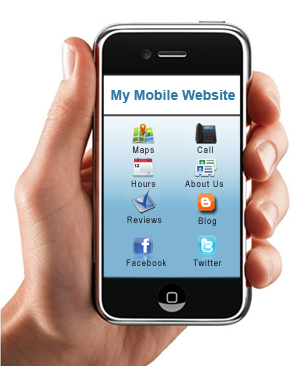 OPTICAL WEBSITE - Smart Phone Integration